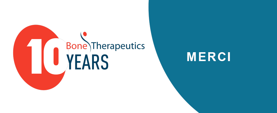 Bone Therapeutics 10 years